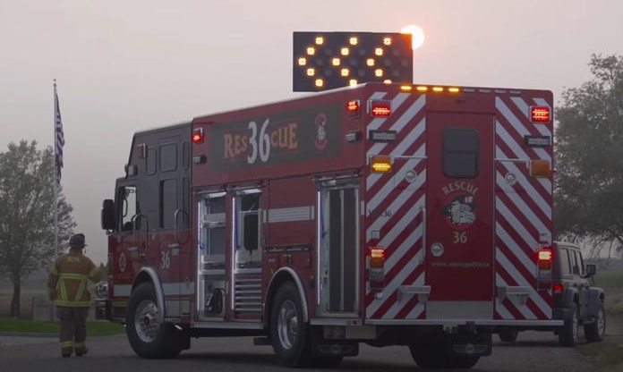 """Featured image for """"ERSI Report: Apparatus Lighting Adoption Grow in Response to Roadway Responder Fatalities"""""""