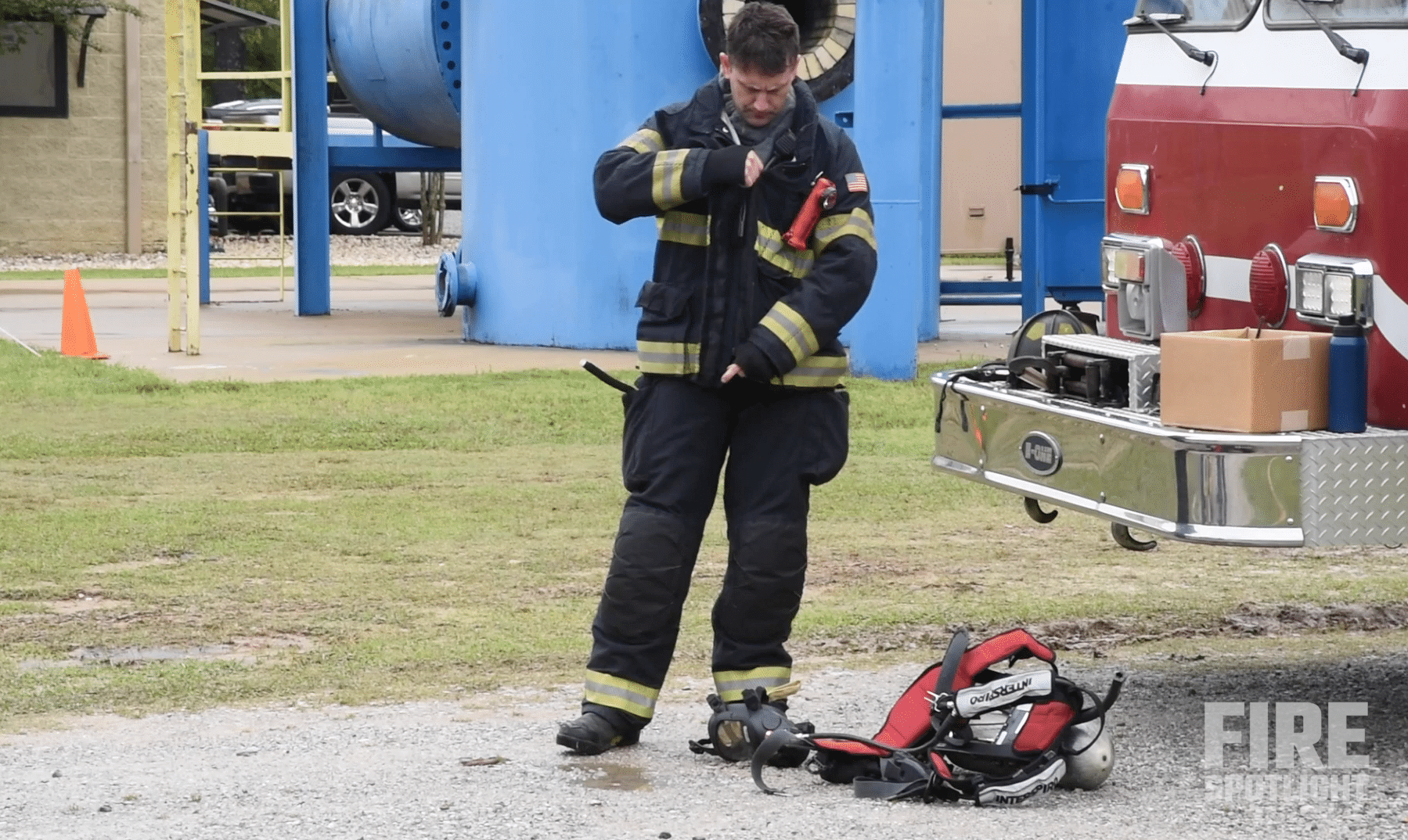 """Featured image for """"Fire Instructor Shaun McAteer Discusses his Firefighter Stories in this Firefighter Training Video"""""""
