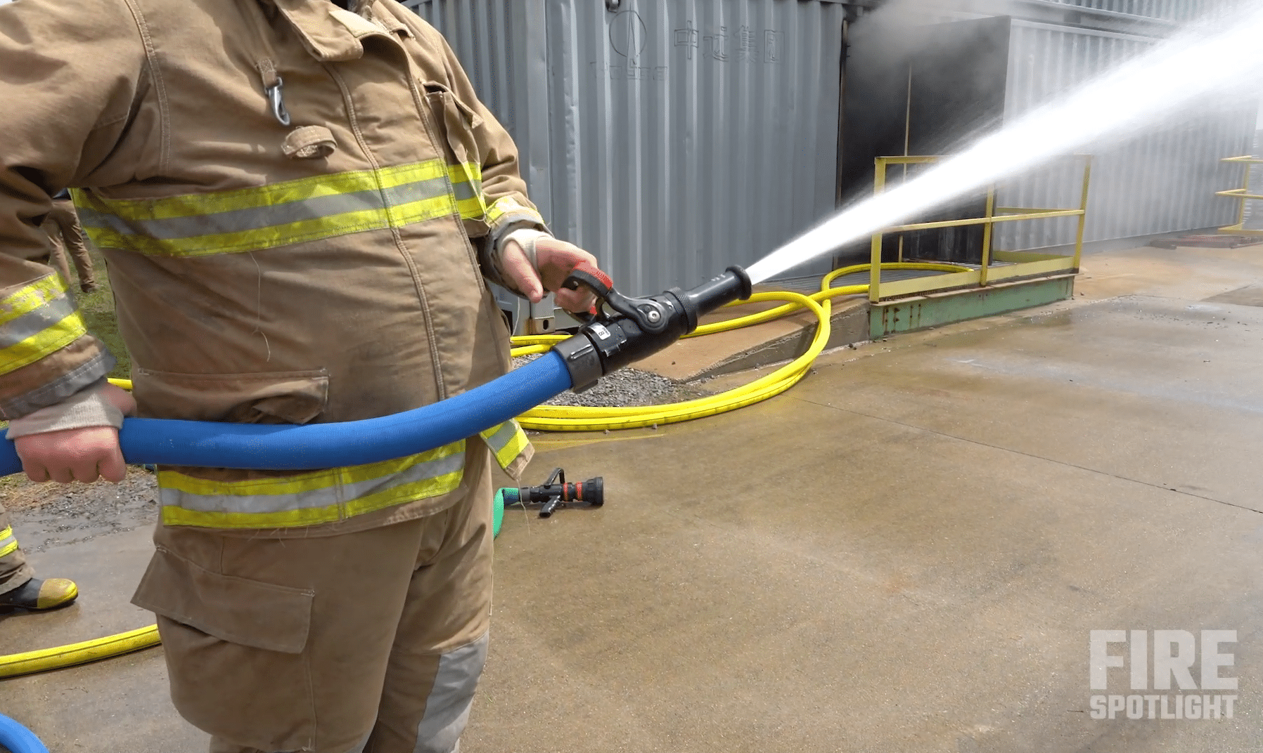 """Featured image for """"Snap-tite Hose Inc Rep Discusses Fire Hose Management Using the N-Dura Fire Hose"""""""