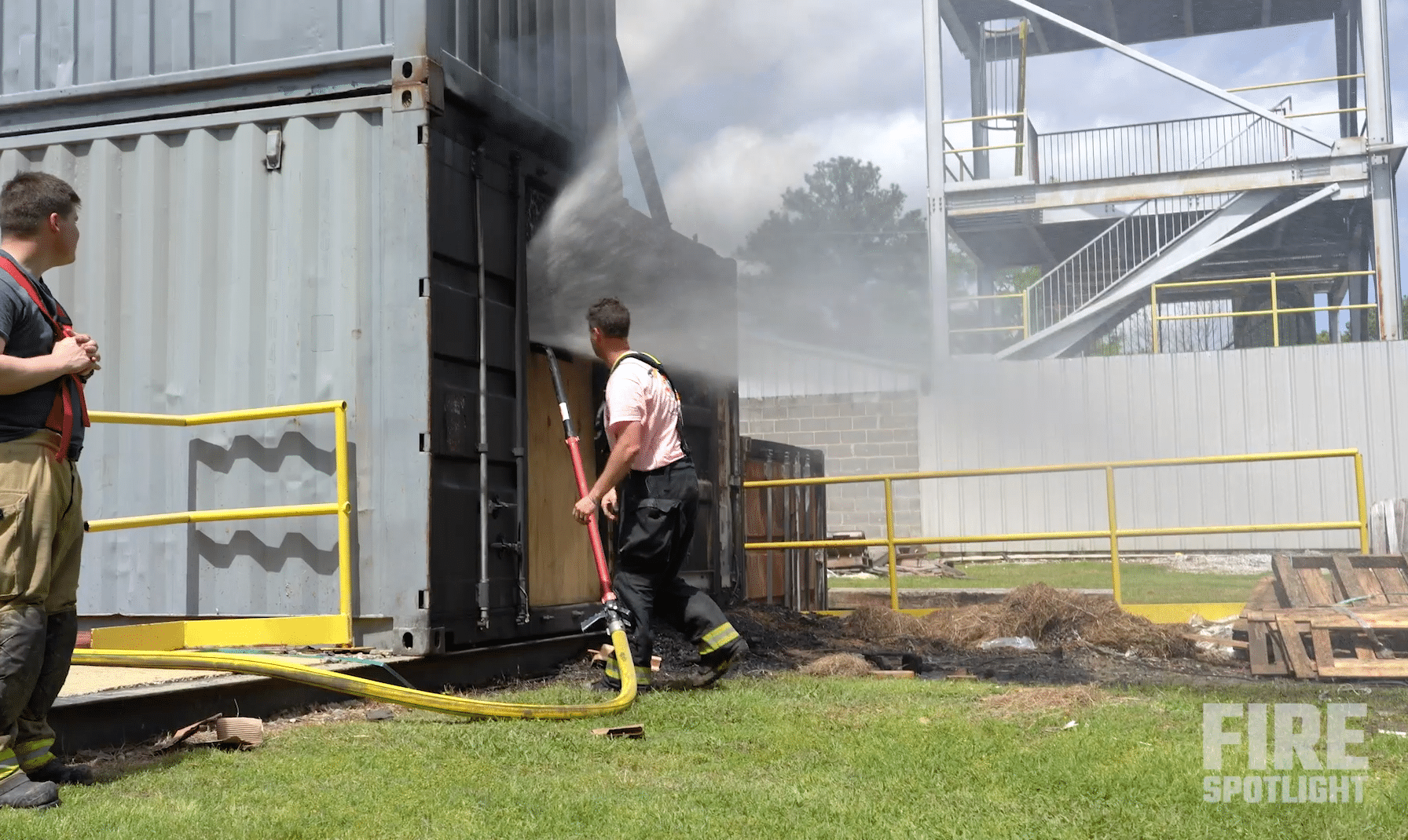 """Featured image for """"Instructor Discusses Importance of Volunteer Firefighter Tools and Hydraulic Ventilation Firefighting"""""""