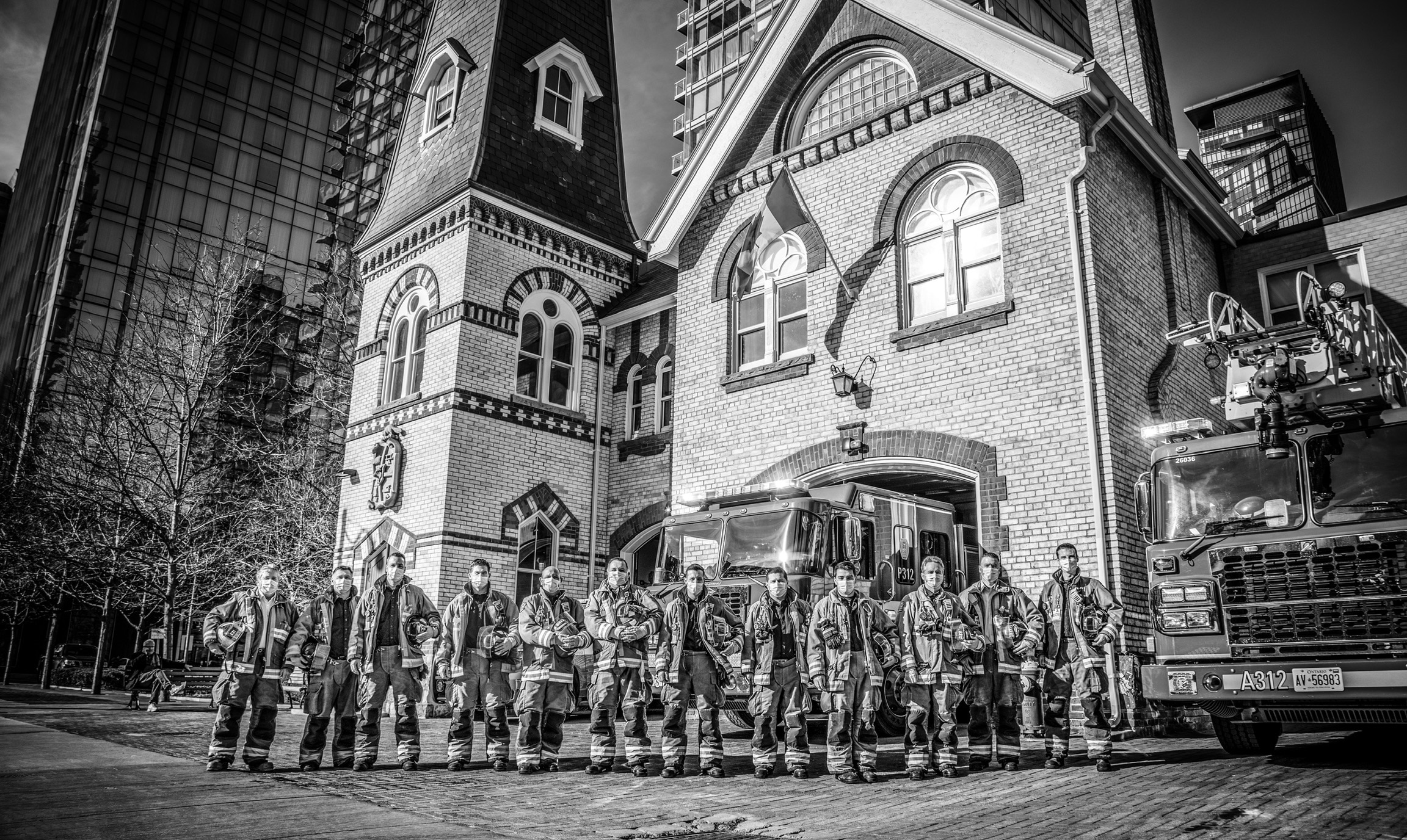 """Featured image for """"Fire Photography Series Features Toronto's Historic Fire Halls, by Firefighter Myscha Bear"""""""