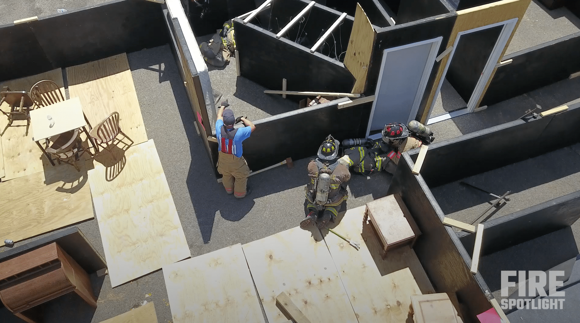 """Featured image for """"DIY Fire Training Props and Firefighter Obstacle Course Help Replicate Real-Life Scenarios"""""""