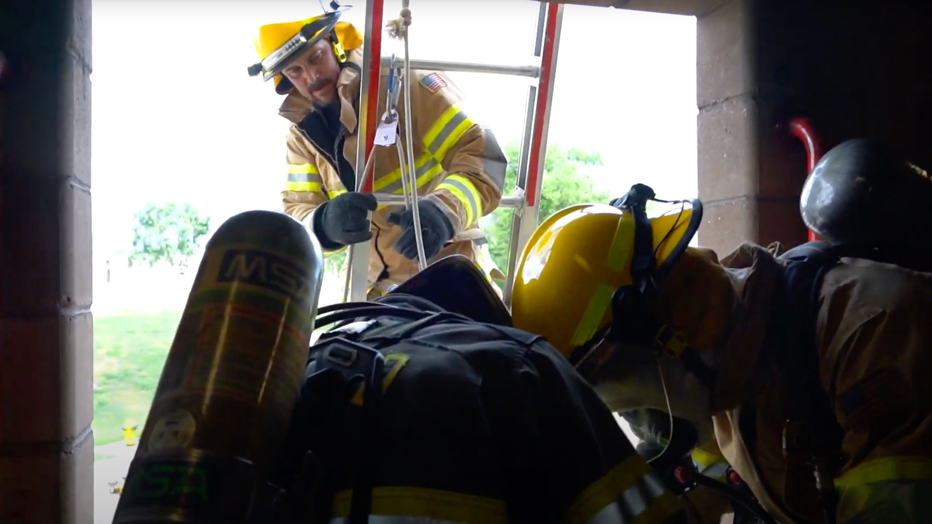 """Featured image for """"Colorado Firefighters Take Part in Denver Drill Training at Parker Firefighter College"""""""